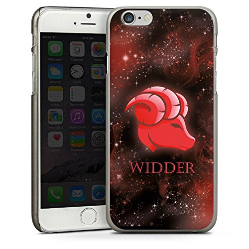 Apple iPhone 5s Housse Étui Protection Coque Signes du zodiaque Bélier Astrologie CasDur anthracite clair