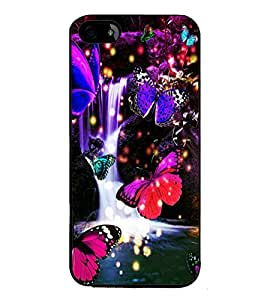 printtech Fish Dolphin Sea Back Case Cover for Apple iPhone 5S