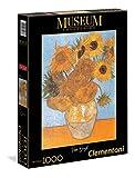 Clementoni - 31438 - Museum Collection Puzzle - Van Gogh, Girasoli - 1000 Pezzi
