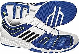 Adidas Adizero CC7 Handballschuhe Hallenschuhe weiß/blau