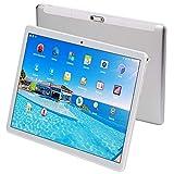 Tablet da 10 Pollici (10.1') con Funzione Telefono (4G Dual Sim+WiFi,1920X1200 HD IPS,Android 7.0,Octa Core,RAM da 4GB,eMMC da 64GB,GPS,OTG) (Argento)