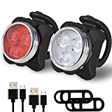 Best Bicycle Lights - Balhvit Bike Light Set, Super Bright USB Rechargeable Review