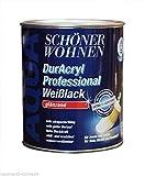 SCHÖNER WOHNEN FARBE Weißlack DurAcryl Professional glänzend, 2,5 L