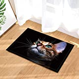 Animal Cute cat Print Kitten Close-up portraitbild umweltfreundliche und tragbare weiche Bad Matte