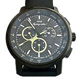 Orologio Porsche Design, Cronografo Sport Classic black con quadrante nero carbone, cinturino in gomma nera di alta qualità. Movimento al quarzo Ronda con 13 rubini. Impermeabile fino a 100 m