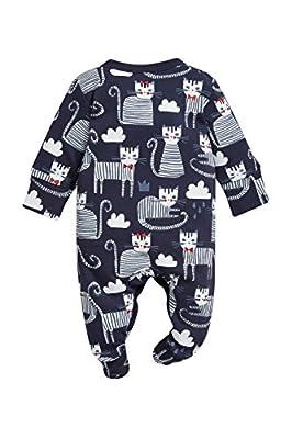 next Bebé Niña Pack De Tres Pijamas Tipo Pelele Estampado Gatos (0 Meses-2 Años) Estándar
