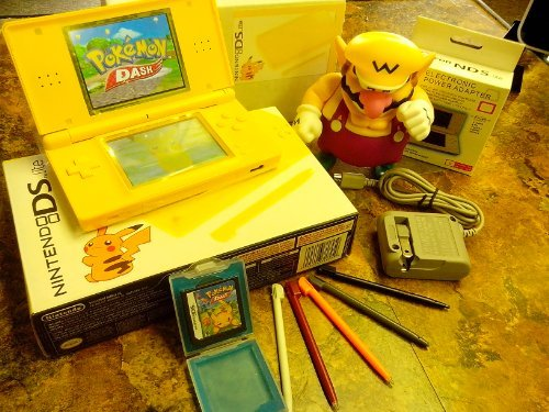 Ds Lite Yellow Pikachu by Nintendo (Lite Ds Pikachu)