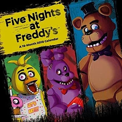 Five Nights at Freddy's Official 2018 Calendar - Square Wall Format