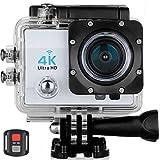 meiq-it PRO Cam Sport Action Camera 4K WiFi Ultra HD 16MP Videocamera Telecomando