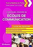 Concours d'entrée en écoles de communication, 1ère édition
