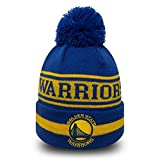 New Era Golden State Warriors Bommelmütze Team Jake - Blau-Gelb - One Size