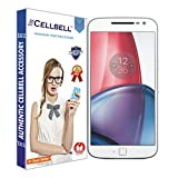 #7: CELLBELLTM Tempered Glass For Motorola Moto G4 Plus ,Clear