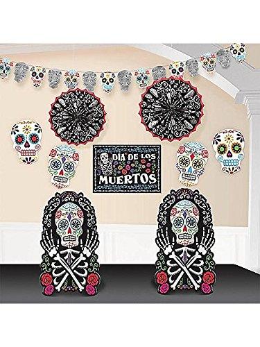 Tag der Toten Muertos Festival Raum Deko Set 10teilig