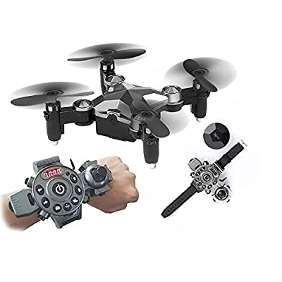 Rc Quadcopter ,KINGBOT Watch Style WIFI FPV Quadcopter with 0.3MP Camera RC Drone Toy