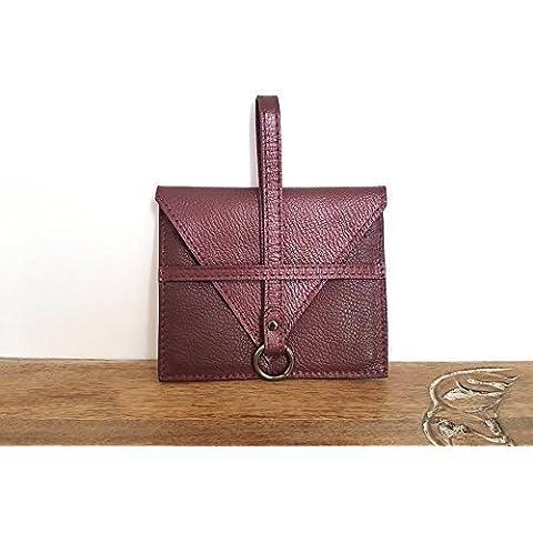 Portafoglio in pelle porta chiavi porta carte di credito. Qualità artigianale italiana Ganza on Amazon