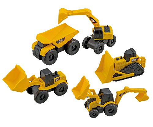 State Cat-toy (Happy People 35971 - Toy State, Cat, Baufahrzeuge Mini Machines, 5-fach sortiert)