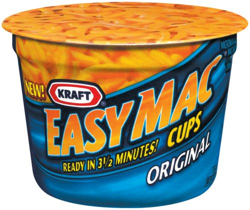 Easy Mac Macaroni & Cheese, Micro Cups, 2.05 oz., 10/Carton, Sold as 1 Carton