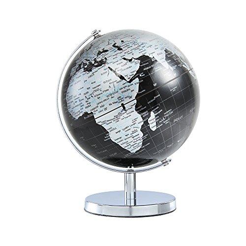 LACOFIA Drehend Mini Globus für Kinder Weltkugel mit politischem und Ozean Karte auf Englisch Durchmesser 15 cm