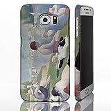 Schutzhüllen, für die Samsung Galaxy-Reihe, mit Motiven aus der klassischen Kunst Gemälde berühmter Künstler, plastik, Bathers at Asnières - Georges Seurat, Galaxy S6