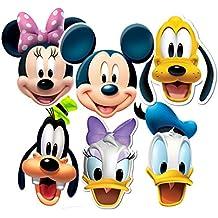 Mickey & Friends fiesta-máscaras , 6 Pack