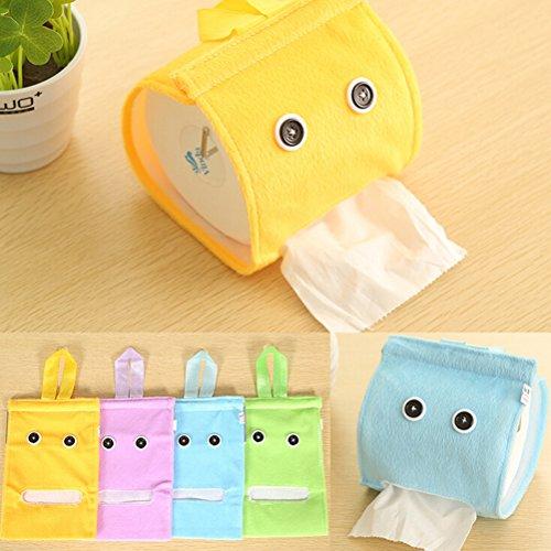 Lanrennb 5 Pack Plüsch Tissue Box Abdeckung Toilettenpapier Set Badezimmer Büro Auto Restaurant Hängen Papier Handtuch