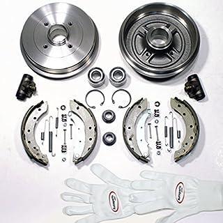 Autoparts-Online Set 60002075 Bremstrommel/Bremsen Set Hinten