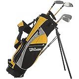 Wilson Pro Staff Ensemble de clubs de golf Junior (8 à 11 ans) Droitier Jaune
