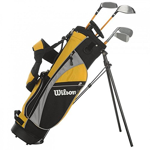 Wilson Pro Staff Ensemble de clubs de golf Junior (8 à 11 ans) Droitier Jaune