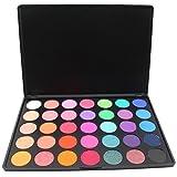 Malloom 35 couleurs maquillage ombre à paupières cosmétique Shimmer Matte Palette (A)