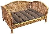 Prestige Wicker Pet divano letto con cuscino, Piccolo