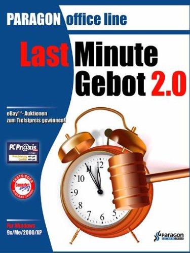 Paragon Last Minute Gebot 2.0