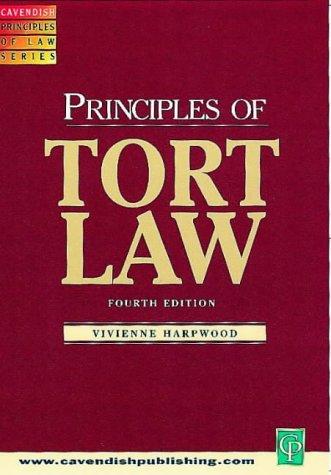 Tort Law (Principles)