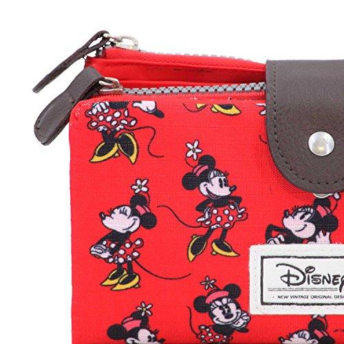 Karactermania Disney Classic Minnie Cheerful Monederos, 18 cm, Rojo