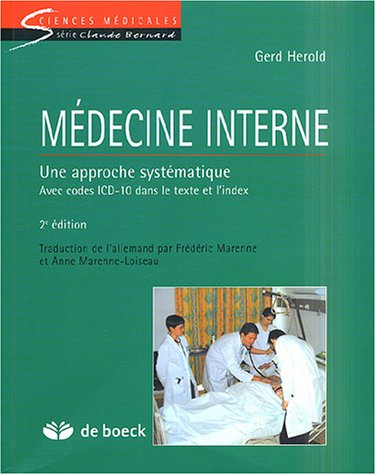 Mdecine interne : Une approche systmatique