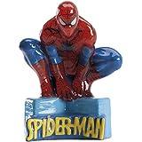 1 bougie décorative spiderman 9,5cm