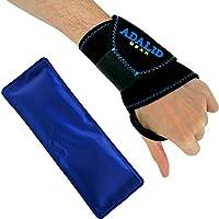 Handgelenkbandage mit Gel-Pad zur Kälte- oder Wärmeanwendung   Verstellbar, universell, mikrowellengeeignet &... preisvergleich bei billige-tabletten.eu