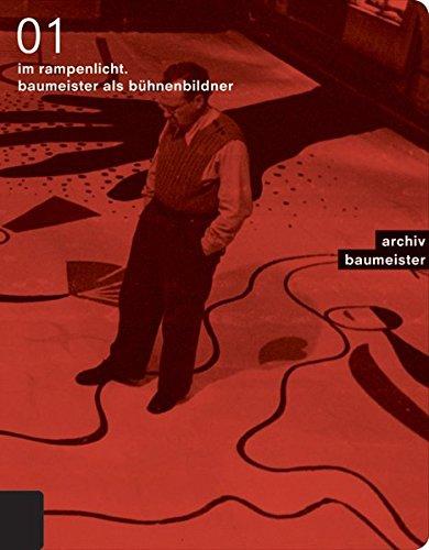 Kataloge Theater Kostüm - Im Rampenlicht. Baumeister als Bühnenbildner