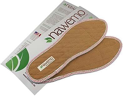 """Zimtsohlen Nawemo """"braun"""", normale Passform, Größe 35"""