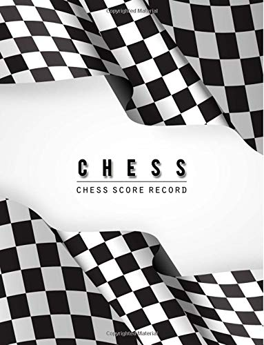 Chess Score Record: Chess Game Record Keeper Book, Chess Scoresheet, Chess Score Card, Chess Writing Note, Informal or Tournament play, Tracks one game with as many as 60 moves, 100 Pages
