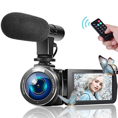 """Camcorder Videokamera IR Nachtsicht WiFi Vlogging Kamera für YouTube Full HD 1080P 3,0\""""HD Touchscreen Digitalkamera Camcorder mit Mikrofon"""