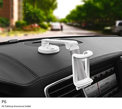 New Trand Trading - Hoco Universal Aluminum Car & Desktop (Smartphones) Stand For Honda Amaze