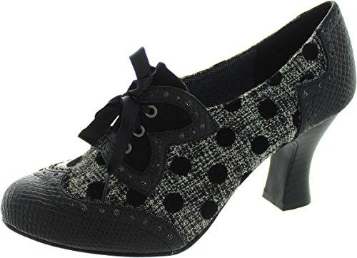 RUBY SHOO Ruby Shoo Womans Shoe 9137 Victoria Black 3 sToj5TMww