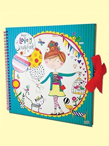 Rachel Ellen-Scrapbook-Mädchen und Luftballons (Girly Taschen Buch)