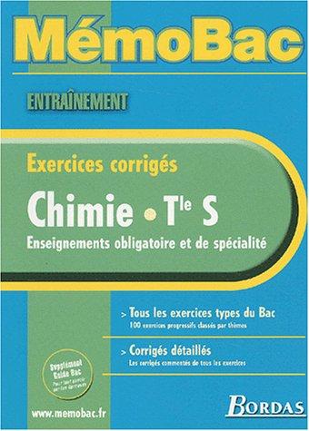 MEMO ENTRAINEMENT CHIMIE TERM S (Ancienne Edition)
