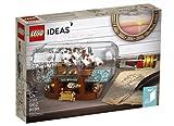 Lego 21313 lego Ideas Schiff in der Flasche 962 Teile .