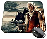 Game Of Thrones Daenerys Targaryen Emilia Clarke Khaleesi Tapis De Souris Mousepad PC