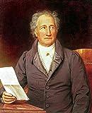 Kunstdruck/Poster: Joseph Karl Stieler Johann Wolfgang von Goethe 1749-1832 1828