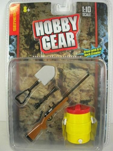 Preisvergleich Produktbild Ausstattungsteile Diorama: Spaten, Gewehr und Wassertonne 1:10