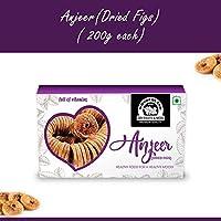 Wonderland Foods Premium Quality Anjeer (Dried Figs) 200g - Pack of 1