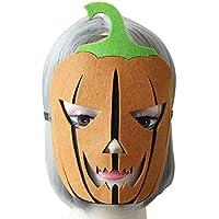 AchidistviQ Lustige Halloween-Kürbis-Maske mit Gummiband für Maskenpartys Multi preisvergleich bei billige-tabletten.eu
